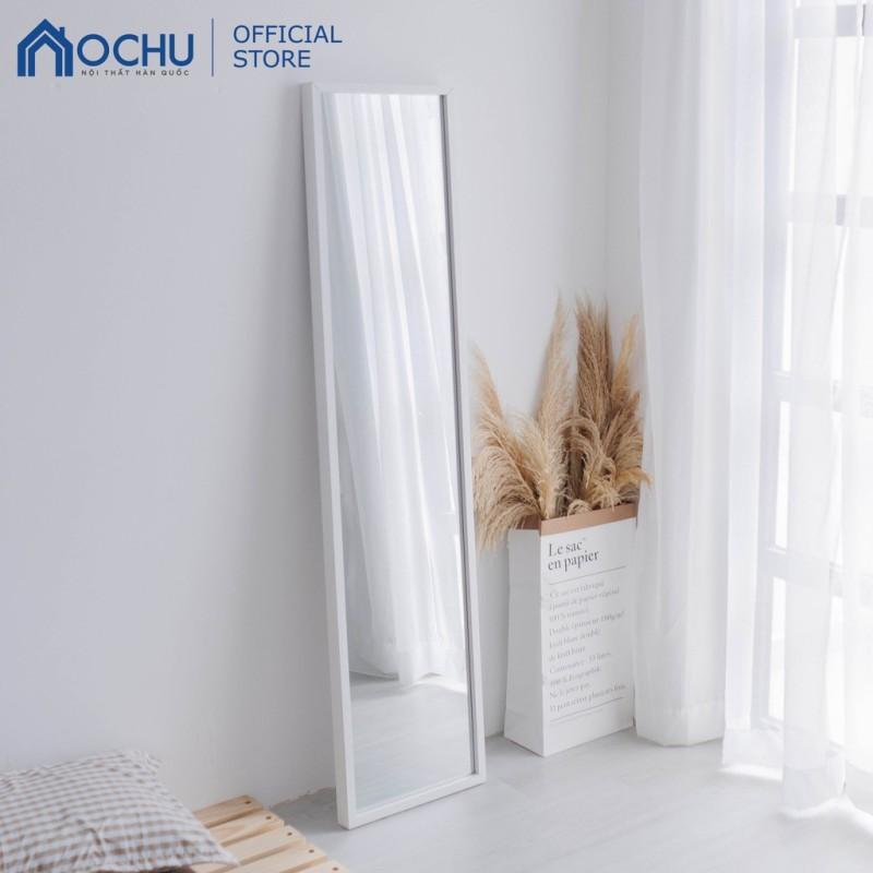 Gương Đứng Soi Toàn Thân Khung Gỗ OCHU - Mirror M - White