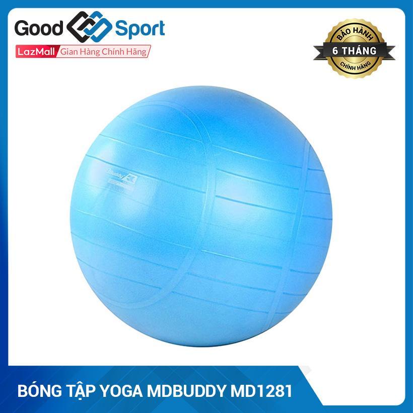 Bảng giá Bóng Yoga, Bóng Tập Yoga Trơn Kích Thước 65Cm Cao Cấp- Bóng Tròn Tập Yoga MDBuddy MD1281 65cm