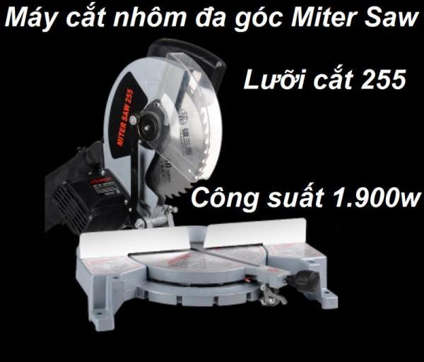 Máy cắt nhôm Miter Saw 255 - Máy cắt nhôm Miter Saw 255