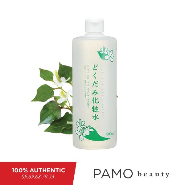 Nước hoa hồng diếp cá Chinoshio Dokudami Natural Skin Lotion 500ml giá rẻ