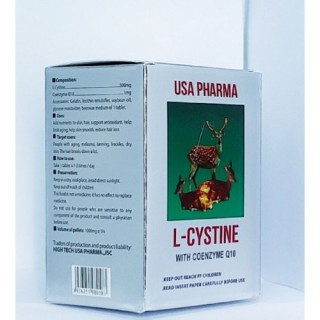 Viên uống sạch nám tàn nhang rụng tóc L- CYSTINE hộp 60v 3
