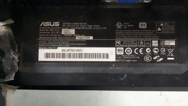 Bảng giá màn hình máy tính asus vw161 Phong Vũ