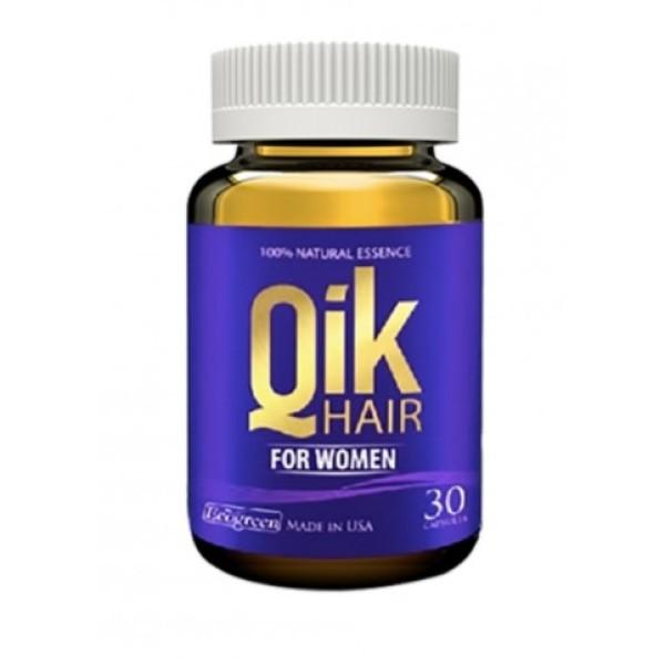 Viên Uống Giảm Rụng Tóc Qik Hair For Women (Chai 30 Viên)