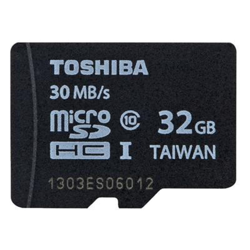 Thẻ nhớ MicroSDHC Toshiba 32GB - chuyên camera và điện thoại (Đen)