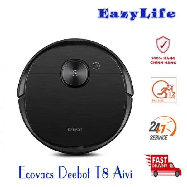 Ecovacs Deebot T8 Aivi - Robot hút bụi lau nhà - Nói Tiếng Việt-Hàng Nguyên Seal, Mới 100%