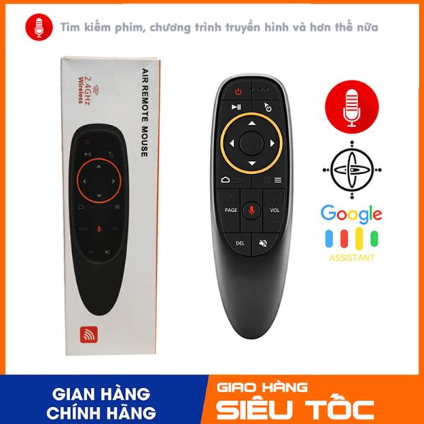 Chuột bay điều khiển giọng nói G10S dùng cho tivi chạy hệ điều hành android, đầu Box TX3, TX5, TX5 mini, Mibox, vinabox