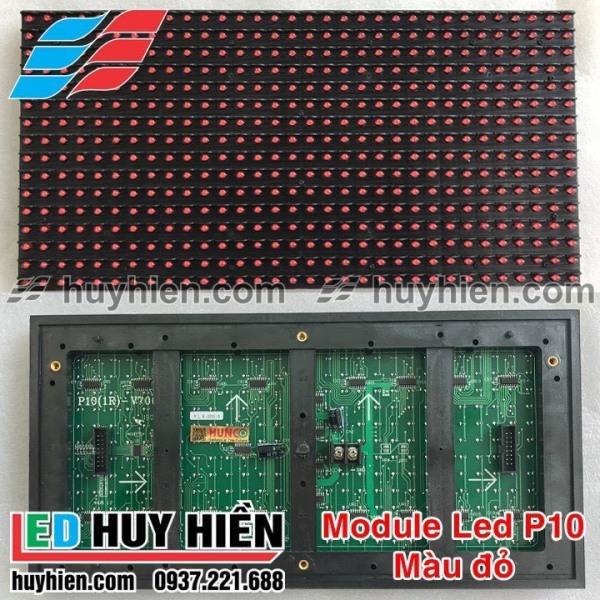 Bảng giá Led P10 LLR màu đỏ ngoài trời ( module led p10 1 màu đỏ ngoài trời LLR) đủ phụ kiện