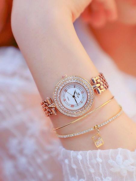Đồng hồ nữ Bee Sister FA1559 dây thép đặc ko gỉ size to sang trọng