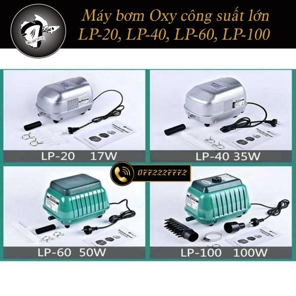 [HCM]Máy Bơm Oxy Công Suất Lớn Resun LP-20 LP-40 LP-60 LP-100 (tặng kèm đầu chia Oxy)