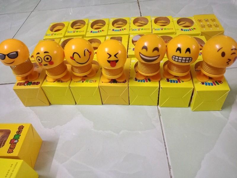 Thú nhún Lò xo Emoji mặt cười đa sắc thái