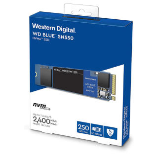 [HCM] Giá Sốc-Shop Mới Ổ Cứng SSD WD Blue 3D NAND 250GB M.2 2280 WDS250G2B0B - Sản Phẩm Cam Kết Chất Lượng thumbnail
