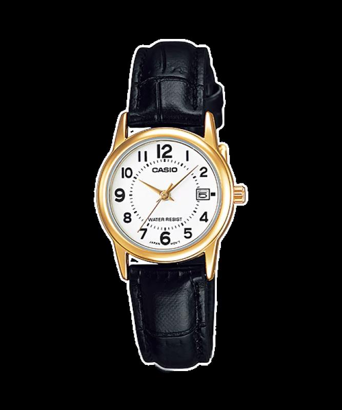 Đồng hồ Casio Nữ LTP-V002GL-7B chính hãng giá rẻ - Bảo hành 1 năm - Pin trọn đời