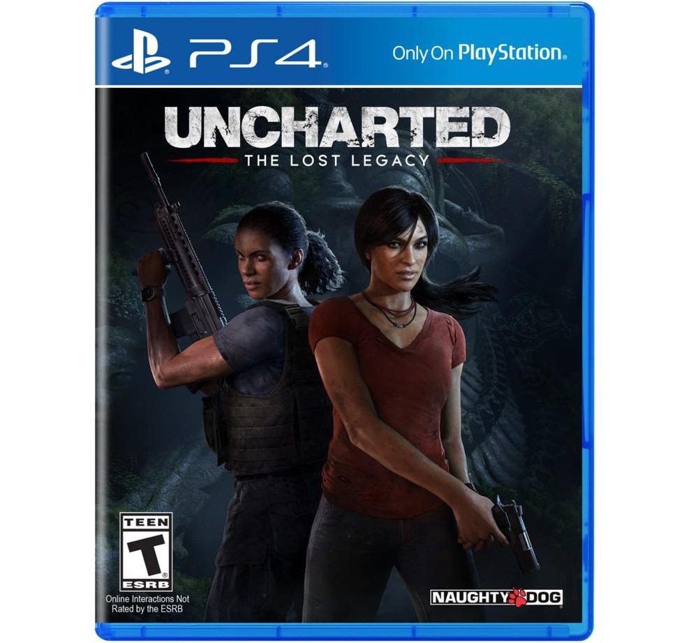 Đĩa game Uncharted The Lost Legacy PS4