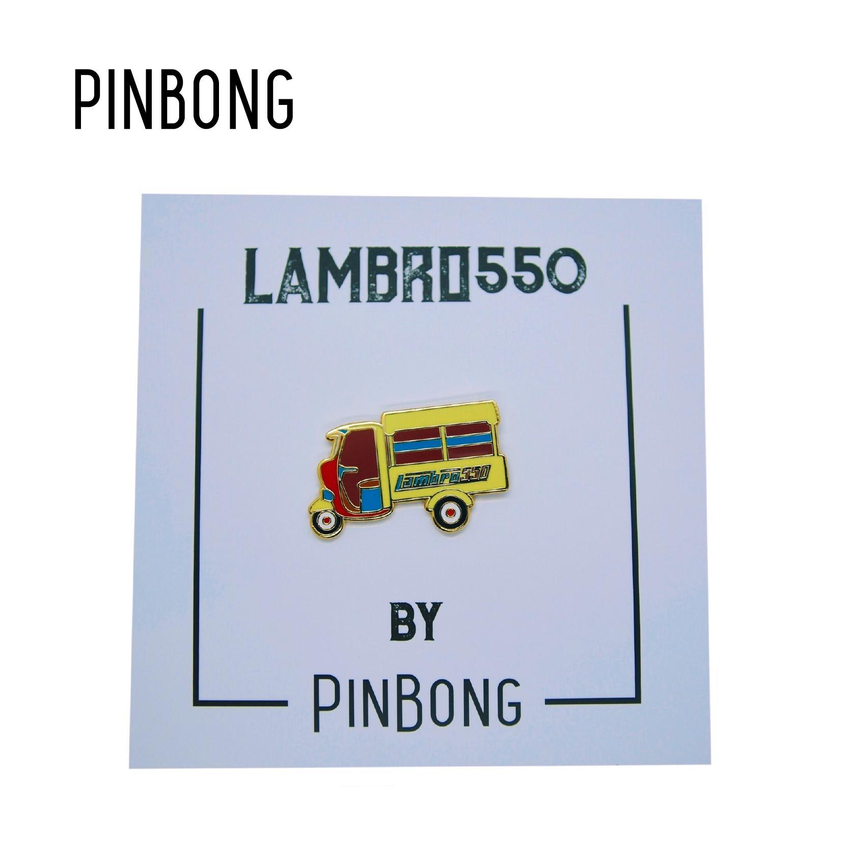 Huy Hiệu Xe Lambro550 PINBONG