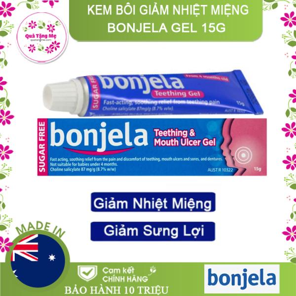 [HCM][ DÀNH CHO BÉ YÊU ] Kem Bôi Giảm Nhiệt Miệng Giảm Sưng Lợi Cho Bé Mọc Răng Bonjela Gel 15g