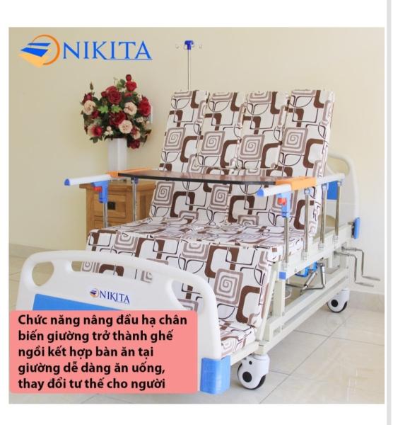 giường y tế  đa chức năng nikita DCN04 [4 TAY QUAY - 13 CHỨC NĂNG]