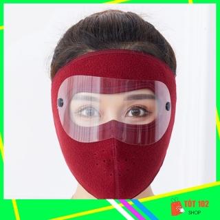 Khẩu Trang Ninja Nin Ja Nam Nữ Vải Nỉ Che Kín Mặt Chống Nắng Chống Bụi Có Kính HNX55 - Khau Trang Ninja Nin Ja Nam Nu Vai Ni Che Kin Mat Chong Bui Chong Nang Chong Ret Co Kinh - ShopTot102 thumbnail