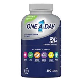 One A Day Viên Uống Bổ Sung Vitamin Tổng Hợp Cho Nam 50+ 300 Viên Của Mỹ thumbnail