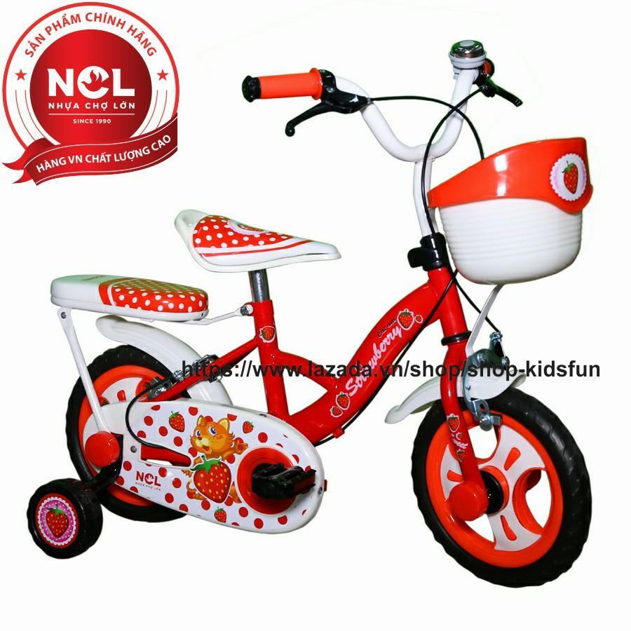 Mua Xe đạp trẻ em Nhựa Chợ Lớn 12 inch K101 - M1774-X2B