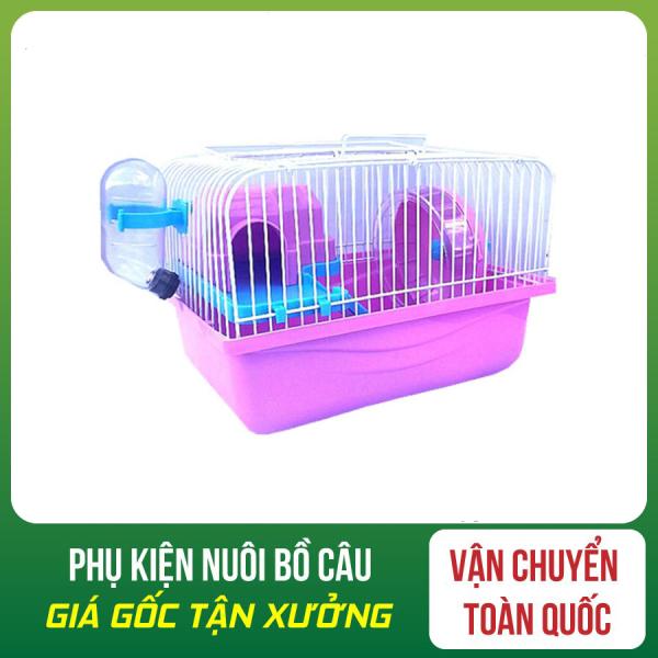[RẺ VÔ ĐỊCH]Lồng hamster mini full có tầng lửng