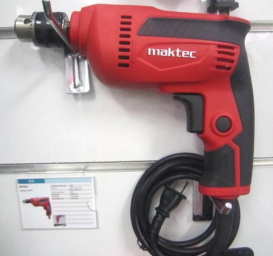 máy khoan mactek 6 ly máy khoan cầm tay  máy khoan tường vặn mở ốc vít