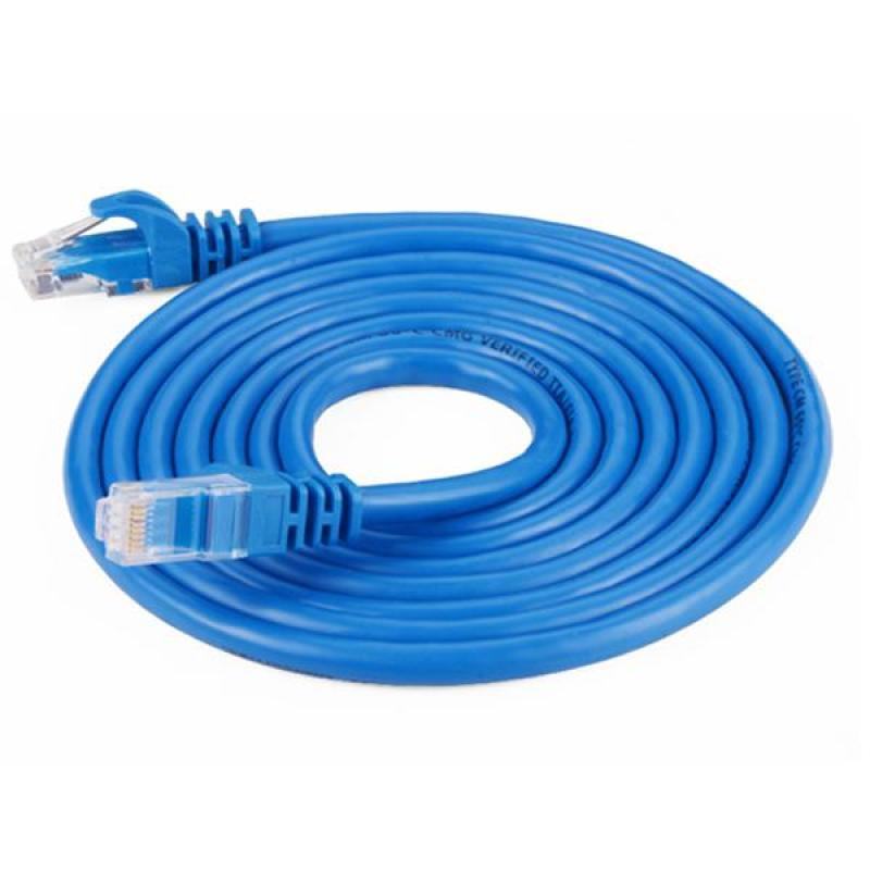 Bảng giá Dây cáp mạng LAN Internet bấm sẵn 10m ( 10 mét bấm sẵn) cat5 Phong Vũ