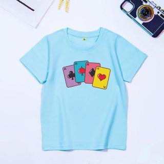 áo thun vải đẹp nam nữ | bé trai, gái | áo in hình lá bài | áo thun cặp nhóm, áo thun mặc cho cả gia đình.