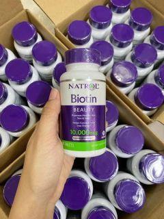 Viên uống Biotin - Mỹ ( Hộp 100 Viên ) thumbnail