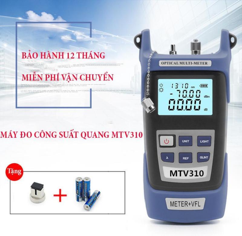 Bảng giá Máy đo công suất Quang MTV310 tích hợp bút dò lỗi sợi 5km cực tiện dụng cho kĩ thuật viên Máy đo công suất quang kiêm đèn soi (Xám)  Máy đo công suất quang tích hợp bút soi quang  - Thiết bị Đo Công Suất Quang Bền Đẹp Cực chính x�