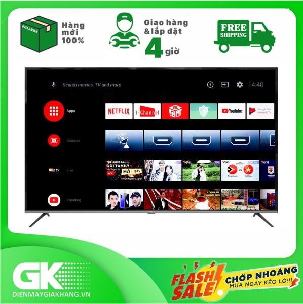 Bảng giá Smart Tivi Android TCL 4K 65 inch L65P8