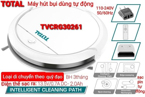 Máy Hút Bụi Tự Động Dùng Pin Total Tvcrg30261
