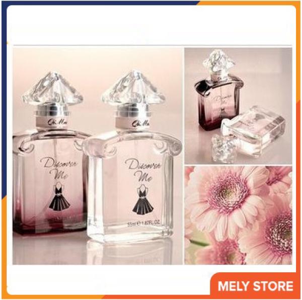 Nước hoa nữ thơm lâu Discover Me hương thơm sang trọng, tinh tế mê mẩn người khác phái, mùi dịu nhẹ, thơm lâu quyến rũ nam, hương thơm ngọt ngào, dạng xịt nhỏ gọn bỏ túi, nước hoa nữ cao cấp chính hãng 55ml Melystore PN022
