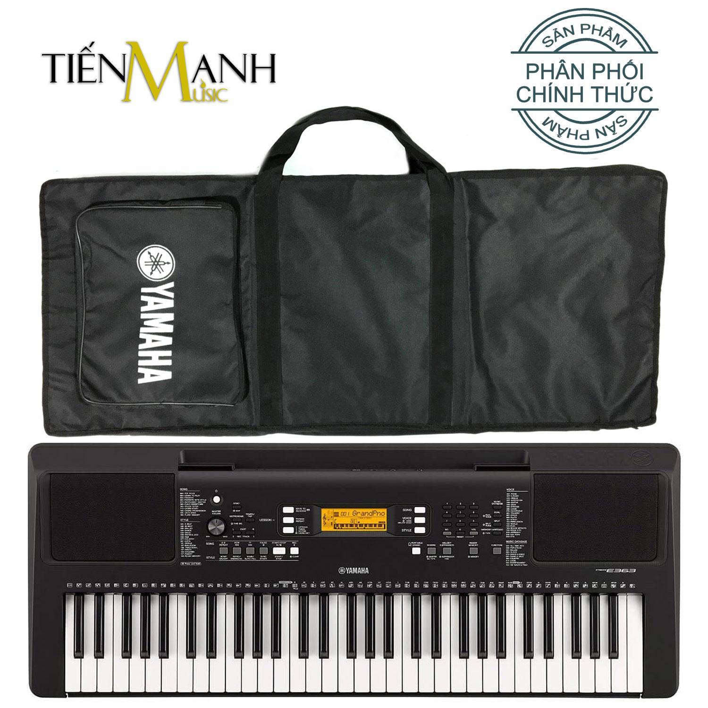 Đàn Organ Yamaha PSR-E363 - Hãng Phân Phối Chính Thức (Keyboard PSR E363 - Hàng Chính Hãng, Có Tem Chống Hàng Giả Bộ CA - Bộ Đàn, Bao, Nguồn) Giá Siêu Rẻ