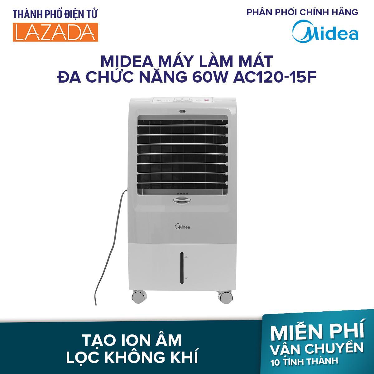 Bảng giá Midea máy làm mát đa chức năng 60W AC120-15F