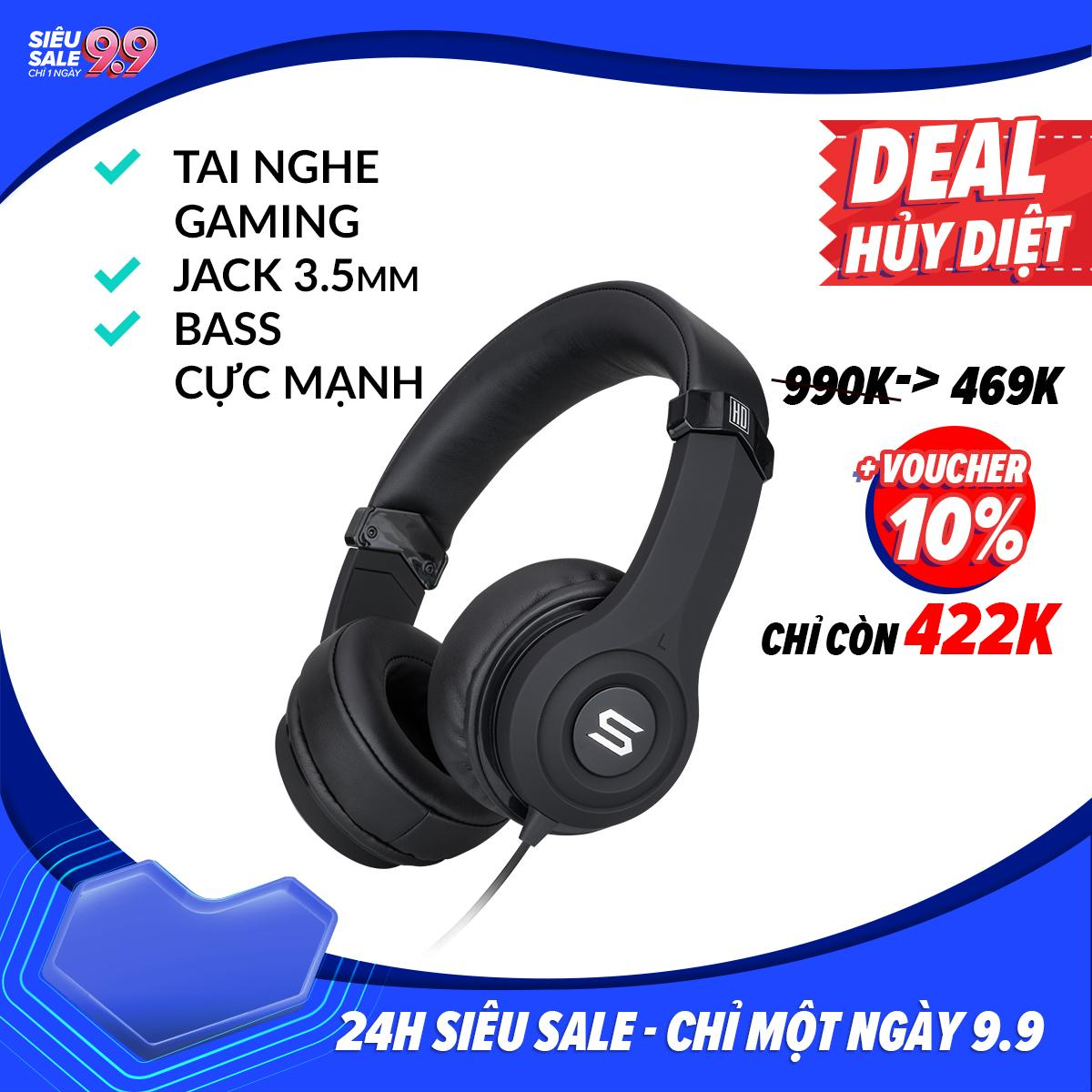 Tai Nghe Chụp Tai on-ear SOUL ULTRA-B SU29 Jack 3.5mm...