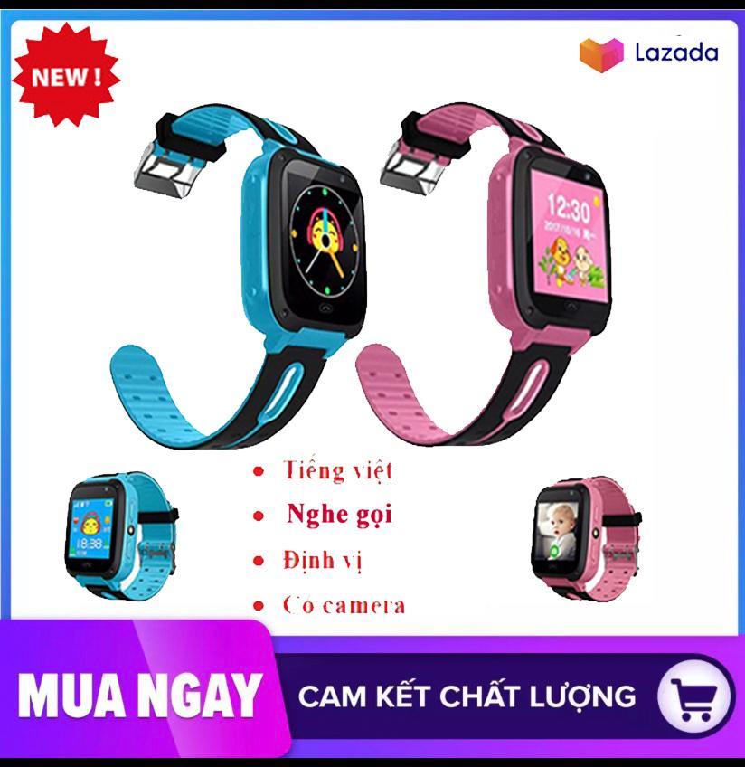 Đồng hồ định vị trẻ em có tiếng việt Q10, đồng hồ thông minh, màn hình màu cảm ứng hỗ trợ thẻ sim, quay số SOS,có Camera, bảo hành 1 đổi 1