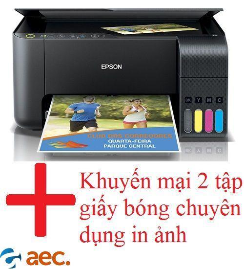 Máy in phun màu Epson L360 sử dụng mực ngoài Hàn Quốc ( đã có 4 chai mực Hàn Quốc đi kèm ) tặng loa nghe nhạc bluetooth trị giá 300k
