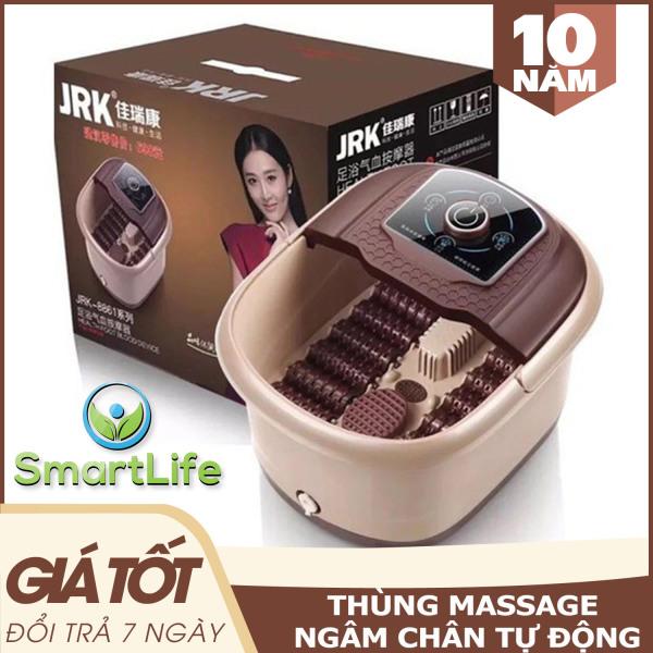 Thùng Ngâm Châm Tự Động Massage Trị Liệu Đa Năng - Máy Ngâm Chân Massage Thư Giãn Có Hồng Ngoại - Bồn Ngâm Chân Massage Giữ Nước Nóng. cao cấp