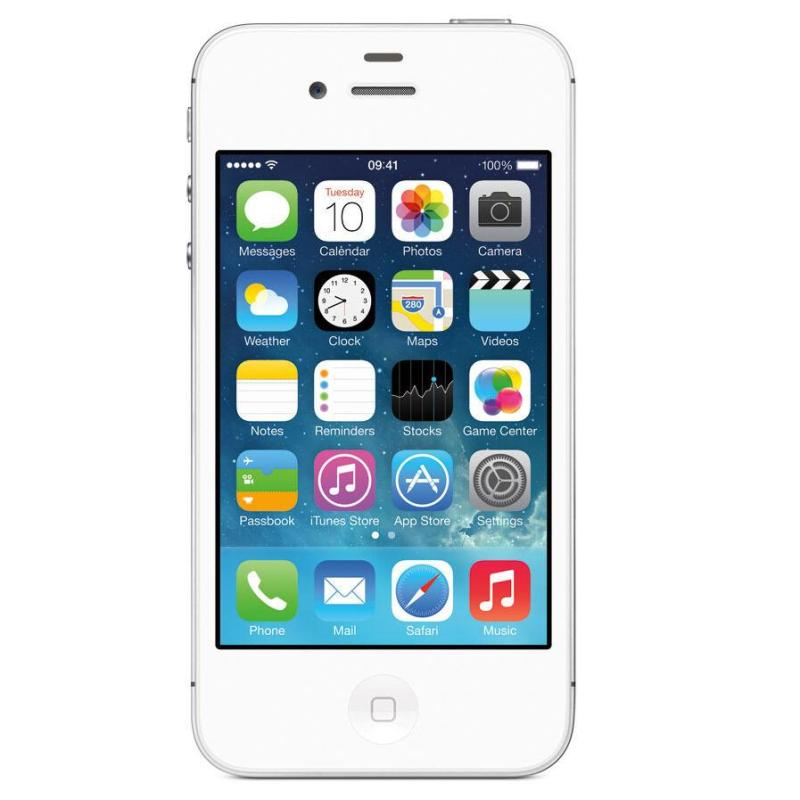 Điện thoại giá rẻ Apple IPHONE 4S - 8GB - Tặng cáp sạc - Bảo hành 1 tháng - Thế Giới Táo Khuyết