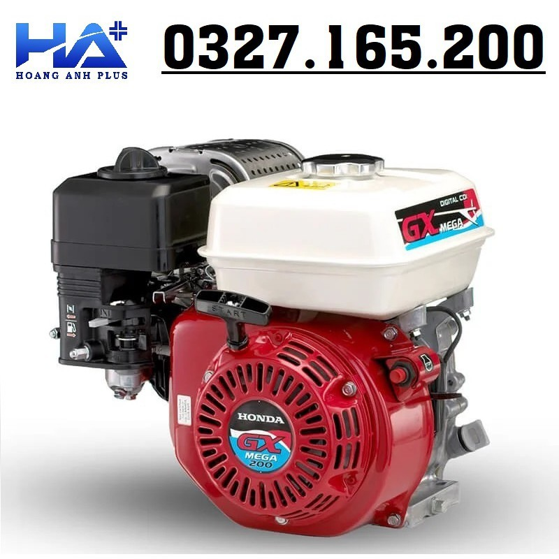 Máy Nổ – Động Cơ Xăng Honda GX 200T2 LBH 6.5HP/4.8KW