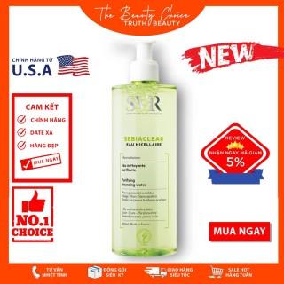 Nước tẩy trang loại bỏ dầu thừa Svr SEBIACLEAR Eau Micellaire (400ml) chất lượng sản phẩm đảm bảo và cam kết hàng đúng như mô tả thumbnail