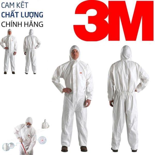 Quần Áo Bảo Hộ 3M 4510 Protective Coverall 4510 Chống bụi không nguy hại, chống văng bắn chất lỏng, dùng phòng chống dịch cho các bác sỹ tuyến đầu