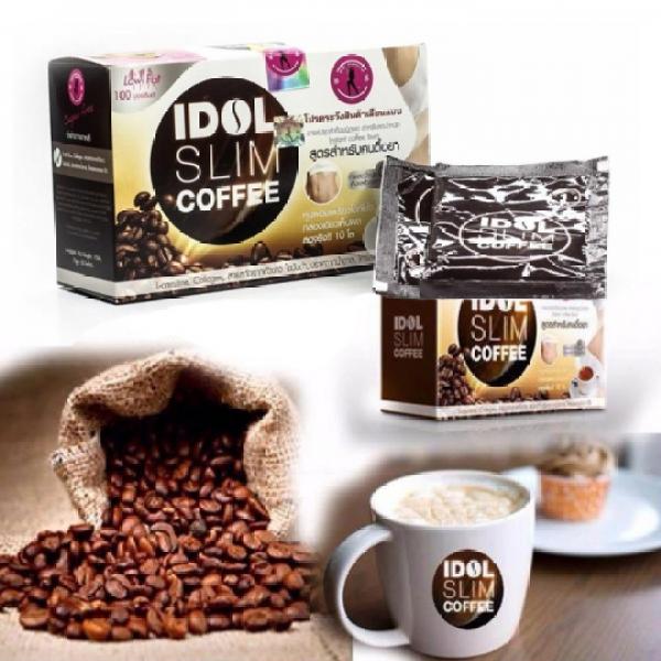 ( rẻ vô địch ) cafe giảm cân IDOLL SLIIM, Cải Thiện Vóc Dáng Hộp/10 gói