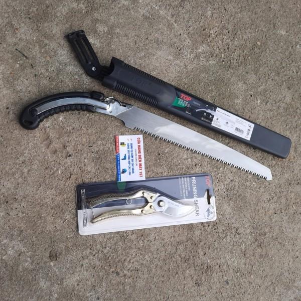 Cưa gỗ cầm tay TOP 350MM chất lượng cao tặng kèm 1 kéo cắt cành xịn