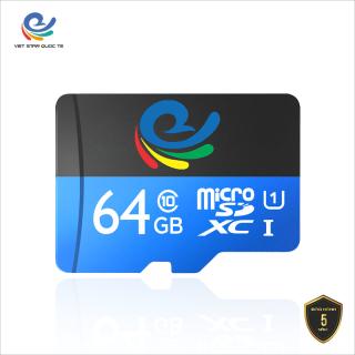 [HCM]Thẻ nhớ VIỆT STAR 64GB Class 10 Micro SD Tốc độ 80MB s- Chạy đa năng tất cả các thiêt bị- BẢO HÀNH 12 THÁNG thumbnail