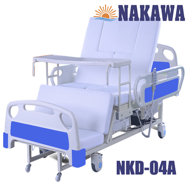 Giường bệnh nhân điện cơ đa năng NAKAWA NKD-04A,[Giá 19.990.000], giương y tế điện cơ đa năng, giương bệnh viện giá tốt, giuong benh nhan, giuong y te, giuong benh , giuong benh vien gia rẻ nhập khẩu