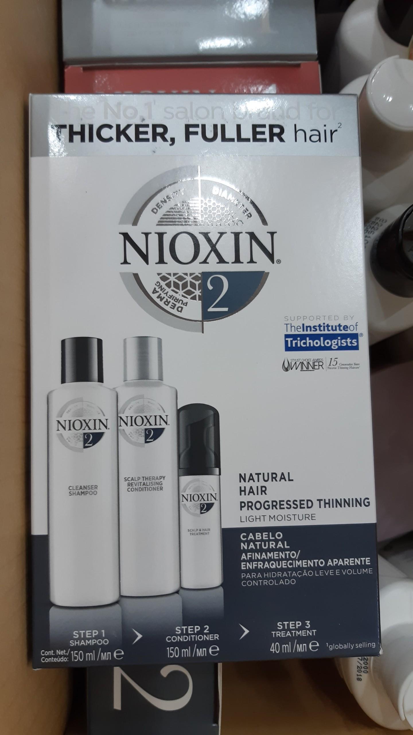 BỘ SẢN PHẨM CHỐNG RỤNG TÓC NIOXIN SỐ 2 (150ML + 150ML+ 50ML) MẪU MỚI chính hãng