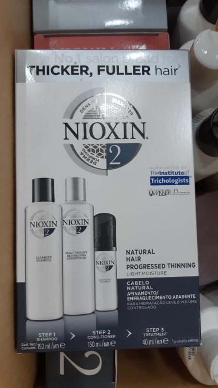 BỘ SẢN PHẨM CHỐNG RỤNG TÓC NIOXIN SỐ 2 (150ML + 150ML+ 50ML) MẪU MỚI nhập khẩu