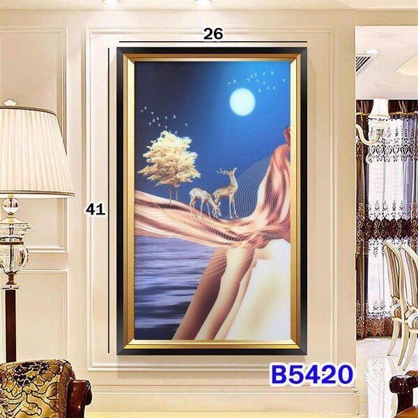 Bảng giá Đèn tranh gắn tường cao cấp 3 màu sắc ánh sáng mang phong cách Châu Âu hiện đại -Phương Anh