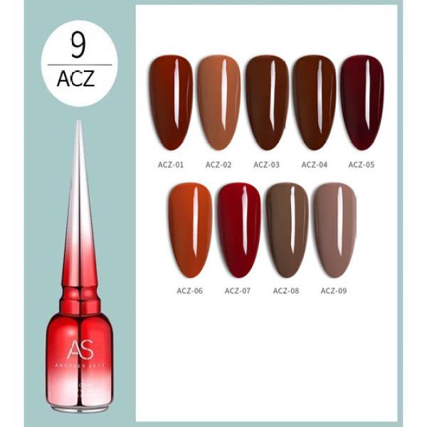 Sơn gel AS 15ML (dành cho tiệm nail chuyên nghiệp) - ACZ giá rẻ